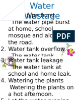 Water Wastage