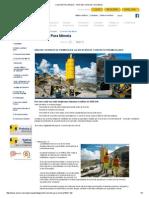 Concreto Para Minería - UNICON, Unión de Concreteras