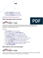 English Page - Past Continuous