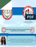Dagupan Lyceum Presentation 2014