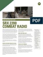 SRX 2200 Specification Sheet