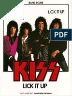 Kiss - lick it up