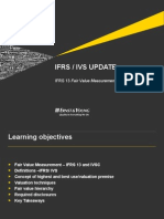 IFRS 13 FV and IVS - Slide Pack