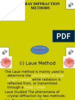 X-Ray Diffraction Methods