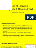 unit 10 - lesson 4 cost push   demand pull inflation