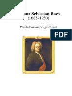 Bach Praeludium and Fuga c Minor BWV 847