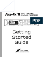 Axe-Fx II XL Getting Started Guide