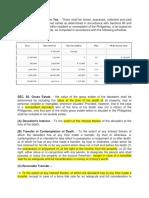 Estate Tax Nirc