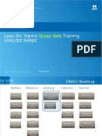 Lean Six Sigma New GB v 5.0 Analyze