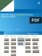 Lean Six Sigma New GB v 5.0 Analyze