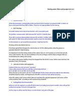 Sealing Water Pump Testing and Operation Start - AC Rev. DGT 13.06.07