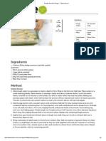 Potato Gnocchi Recipe - Taste.com