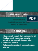 Distosia His