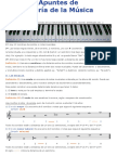 Apuntes de Teoría de La Música