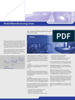 Head Manufacturing Lines