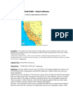 Plan de Rugaciune - California