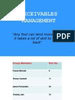 Receivables Management