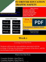 Drivers Ed-Regular School Year