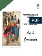 Programacion.. Curricular 3er y 4to Grado Primaria