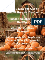 Harvest Fest Save the Date 2015-16