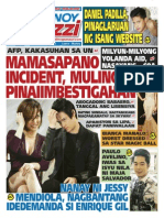 Pinoy Parazzi Vol 8 Issue 112 September 14 - 15, 2015