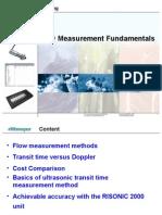 RISONIC 2000 Flow Measurment
