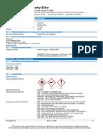 Dimethyl Ether C2H6O Safety Data Sheet SDS P4589