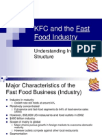 Debriefing of KFC and Fast Food