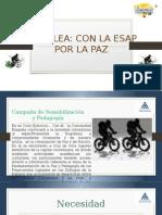 La Esap Pedalea Con La Paz (Presentación) (1)