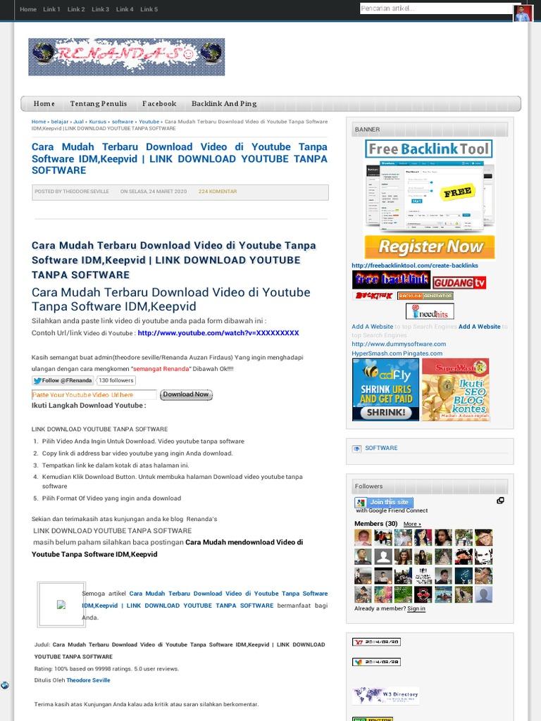 Jual Bokep Anak Kecil Cara Mudah Terbaru Download Video di Youtube Tanpa Software IDM,Keepvid | LINK DOWNLOAD YOUTUBE TANPA SOFTWARE | RENANDA'S☺