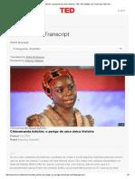Texto5_Chimamanda Adichie_ o Perigo de Uma Única História _ TED Talk Subtitles and Transcript _ TED