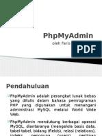 Panduan PHPMyAdmin