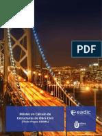 Master Calculo Estructuras Obras Civiles EADIC OCT15