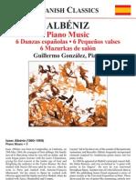 ALBÉNIZ, I.- Piano Music, Vol. 3 (González) – 6 Danzas espanolas