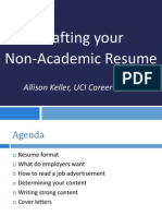 Advanced Resume Strategies Graduate Students