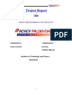 Study of ULIP Plans