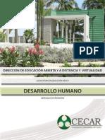 Desarrollo Humano-Desarrollo Humano
