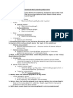 Abdominal Wall Learning Objectives