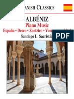 ALBÉNIZ, I.- Piano Music, Vol. 6 (Sacristán) - España