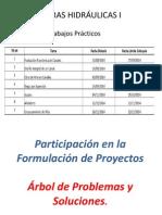 Participación en La Formulación de Proyectos