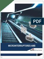 10 Micro Interruptores AMB