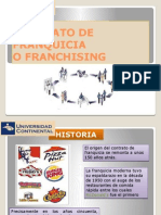 Contrato de Franquicia Derecho Internacional[1]