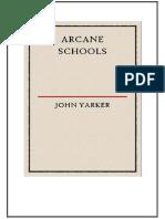 Arcane Schools