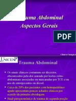 Apresentação sobre Trauma+Abdominal
