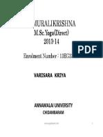 Varisara Kriya PDF