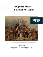 Opium Wars Background Guide