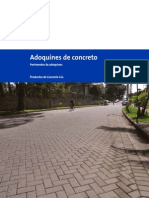 Pav Adoquin de Concreto