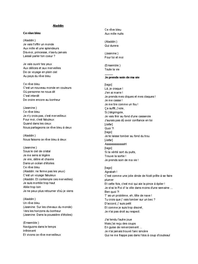 paroles de la chanson toutes ces rencontres site rencontre essaouira
