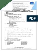 Tips for Dissertation Report-By Rashmiranjan Panigrahi, Lecturer in Finance , ASMIT