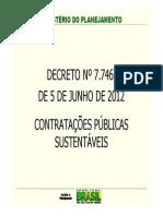 DECRETO 7746